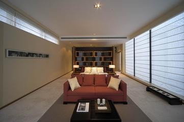 豪华现代风卧室装修图效果