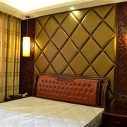韵味中式住宅欣赏卧室背景墙