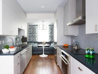 现代装饰设计效果套图厨房过道