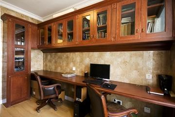 115平混搭三室两厅欣赏书房