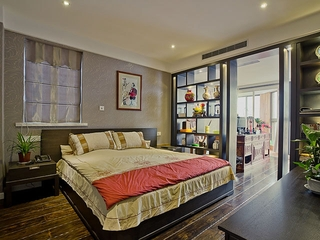 125新中式三居欣赏卧室