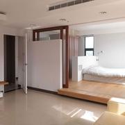 日式淡雅出彩复式欣赏卧室