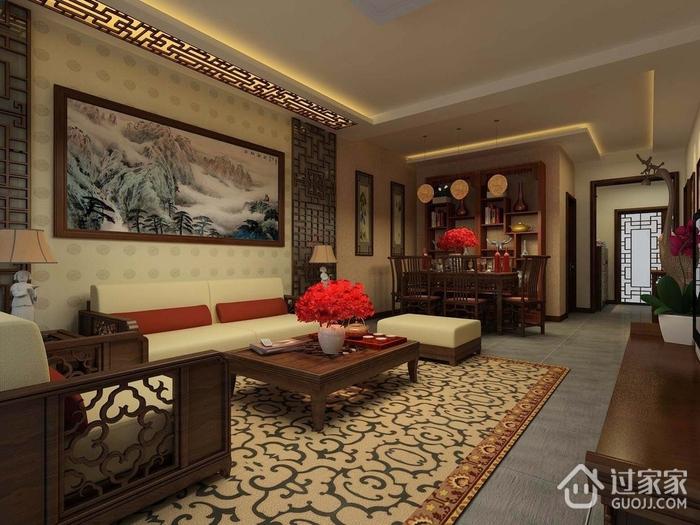 117平雅致新中式欣赏