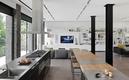 现代开放式别墅厨房设计