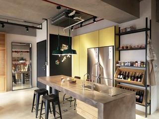 115平现代个性公寓欣赏厨房设计