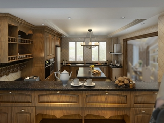 欧式奢华住宅欣赏厨房