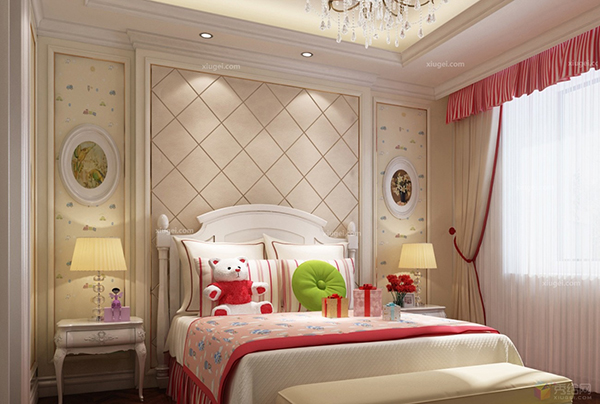 怎么样让别墅儿童房装修设计好看?