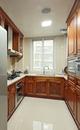 美式风格三居室厨房装修效果图