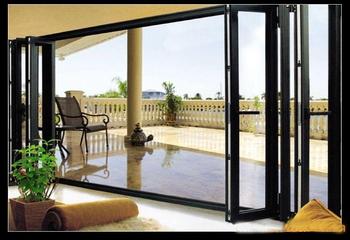 铝合金折叠窗的3大材质