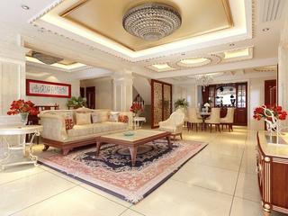 大气奢华中式住宅欣赏