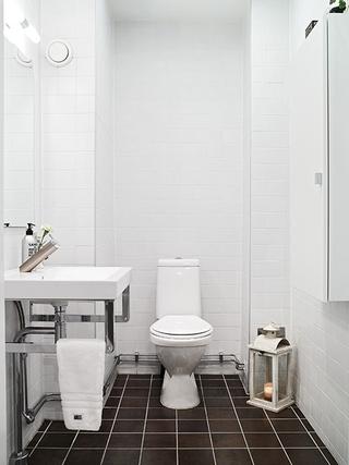 北欧小户型公寓设计欣赏卫生间