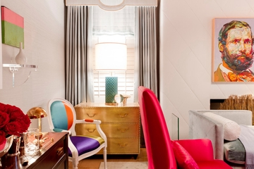 欧式别墅奢华效果套图卧室陈设