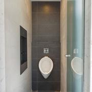 69平现代老房改造欣赏卫生间
