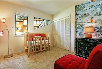 简约风格效果图婴儿房