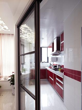 90平时尚简约住宅欣赏厨房