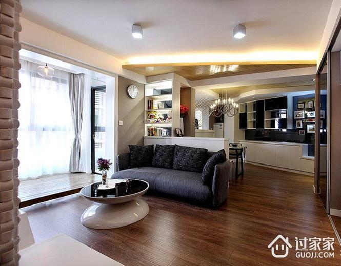 现代舒适一居室欣赏