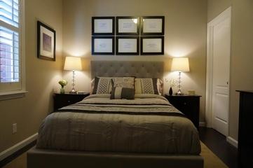 美式别墅装饰效果图次卧