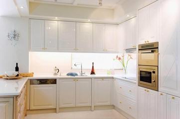 低调气质新古典住宅欣赏厨房橱柜设计