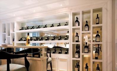 地中海风格别墅设计酒柜