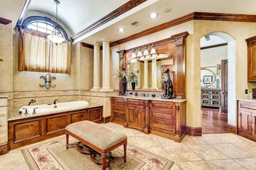 法式装饰别墅设计卫生间