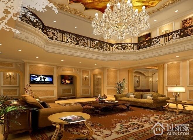 欧式风格奢华别墅欣赏