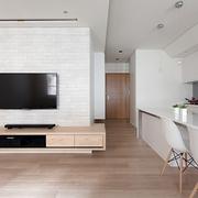 简约设计小户型效果图客厅陈设
