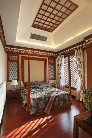 东南亚奢华装修卧室效果