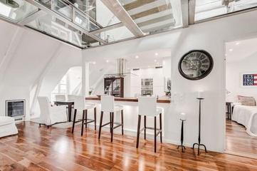 现代时尚复式公寓欣赏厨房