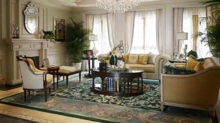 经典欧式搭配设计欣赏客厅背景墙