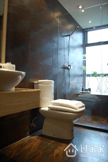 现代风格套图效果卫生间马桶