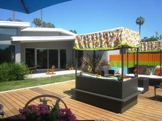美式风格效果图花园
