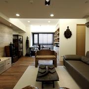 客厅与书房一览