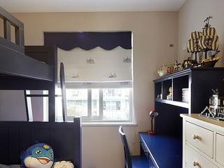 90平三室两厅住宅欣赏卧室陈设