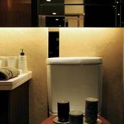 现代日式风卧室马桶