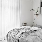 46平实用单身简约住宅欣赏卧室陈设