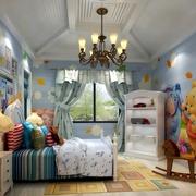 简欧装修案例欣赏儿童房
