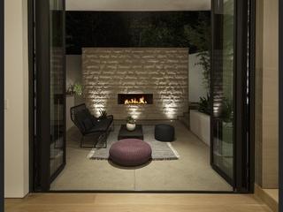 现代奢华别墅设计花园