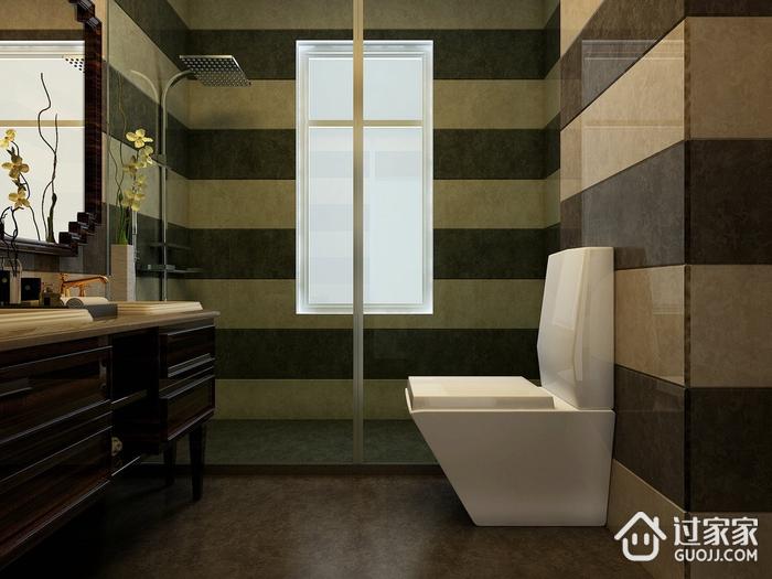 深色简约住宅欣赏卫生间