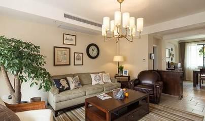 新房完工终于可以把女儿接过来了,最喜欢客厅用砖垒的电视柜!