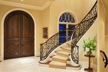 法式别墅套图欣赏楼梯效果图