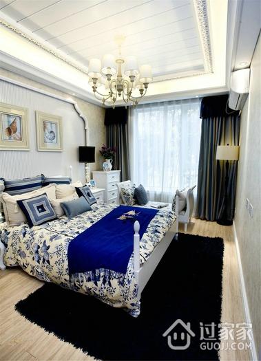 白色浪漫地中海住宅欣赏卧室吊顶设计