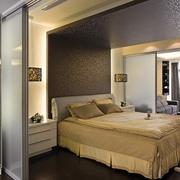 72平简约两室一厅欣赏卧室