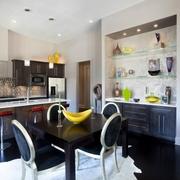 简约风格装饰图开放厨房