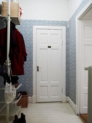 87平现代风三居室欣赏室内门