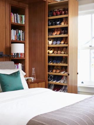 精装美式风格复式楼欣赏卧室陈设