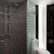 98平现代装修案例欣赏卫生间设计