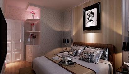 优雅新古典三居室欣赏卧室