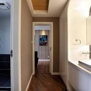 80后简约二居室 卫生间淋浴房装修效果图