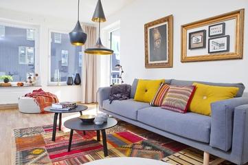 北欧舒适住宅欣赏客厅效果