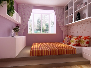 简约温馨效果图案例欣赏儿童房